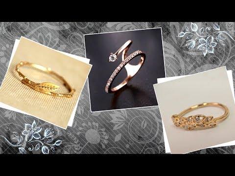 Designer Gold Finger Rings: Unique, Unusual Designs