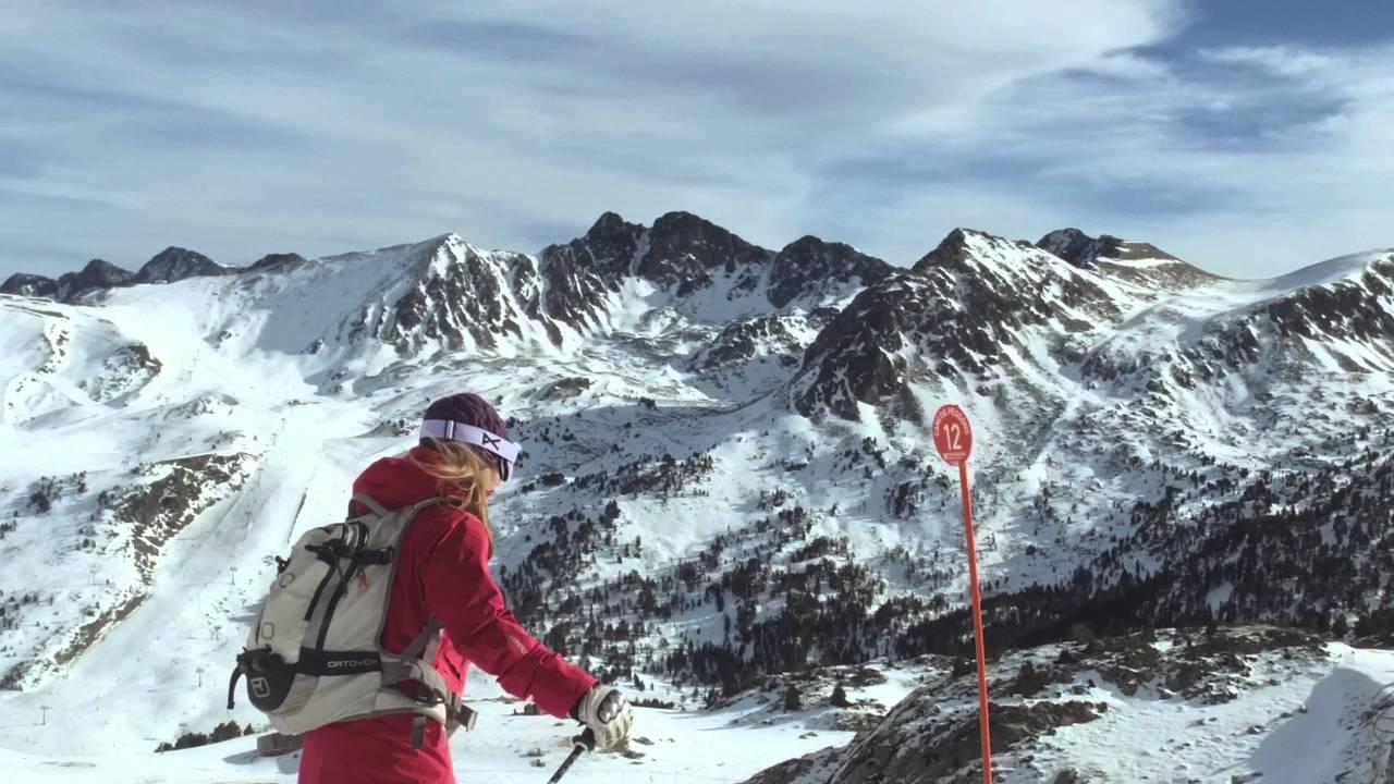 EVASIÓN TV: Esquiando con una APP en Grandvalira, una herramienta para mejorar tu experiencia!