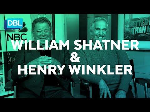 William Shatner & Henry Winkler talk about BETTER LATE THAN NEVER