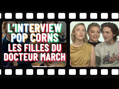 L'interview popcorns de Timothée Chalamet, Saoirse Ronan et Florence Pugh 🍿