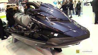 7. 2016 Yamaha FX HO Cruiser Jet Ski - Walkaround - 2015 Salon Nautique de Paris