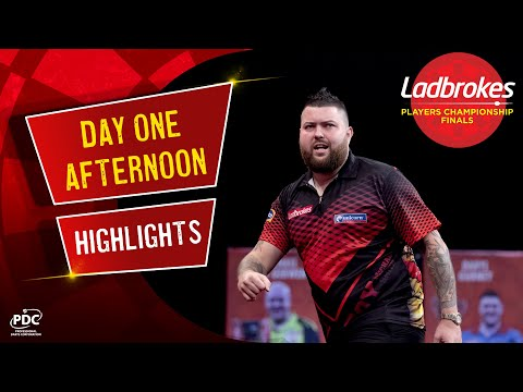 Day One Afternoon Highlights | 2020 Ladbrokes Players Championship Finals