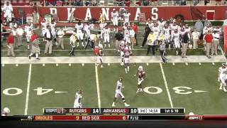 Mark Harrison vs Louisville, Arkansas, Cincinnati (2012)