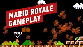 Mario Battle Royale Gameplay by IGN