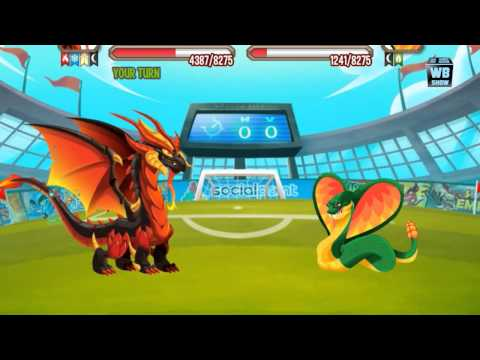 Dragon City: All World Cup Battles [Ney Dragon Quest]