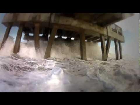 Juno Beach Pier November Storm