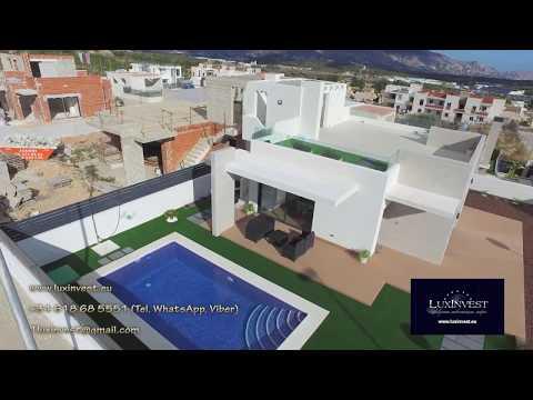Villa en la Costa Blanca. Nueva villa High Tech en Benidorm (suburbio - la ciudad de Polop)