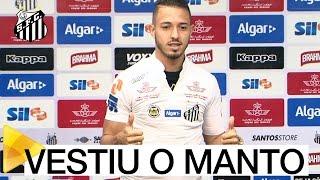 Na manhã desta sexta (10), Jean Mota vestiu o manto alvinegro pela primeira vez! Confira a primeira entrevista coletiva do novo meia do Santos FC! Inscreva-s...