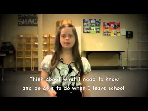 """DON'T LIMIT ME!""- Powerful message from Megan with Down Syndrome"