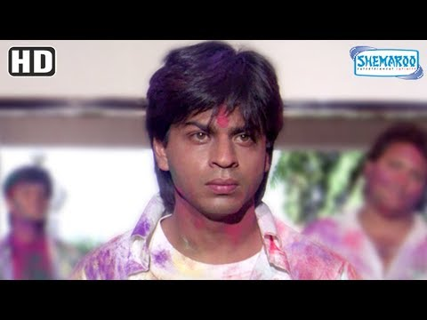 Sharukh Khan proposes Divya Bhatti scene from Deewana [1992] [HD] Hindi Romantic Movie