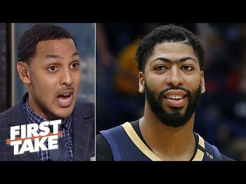 Video: Anthony Davis makes the Lakers the biggest winners in free agency - Ryan Hollins | First Take
