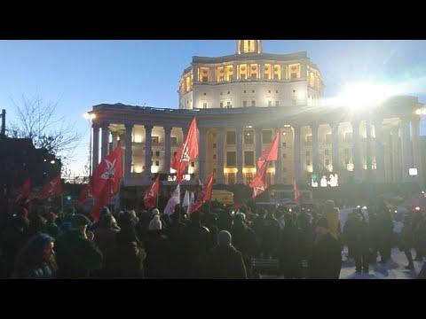 Левый фронт против результата прошедших выборов 2018 - DomaVideo.Ru