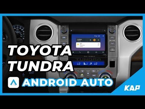 TOYOTA TUNDRA Android AUTO !!