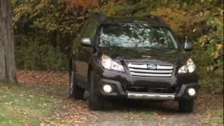 2013 Subaru Outback - Drive Time Review With Steve Hammes