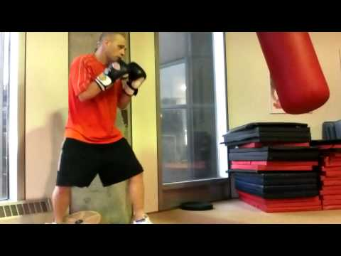 Boxing Footwork - In and Out Footwork like Marquez, Pacquiao, and Sven Ottke