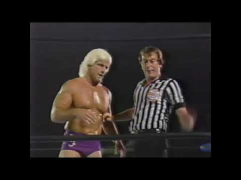 Ric Flair vs Jobber George South NWA 1985