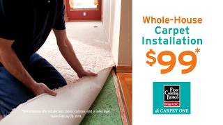 Whole-House Carpet Installation