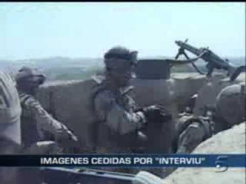 Combate de soldados españoles en Afganistan