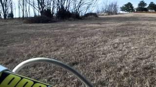 8. 2007 CRF150R test ride Steahly fly wheel