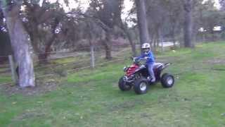 9. Yamaha Raptor quad 80cc