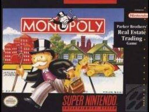 monopoly super nintendo cheats