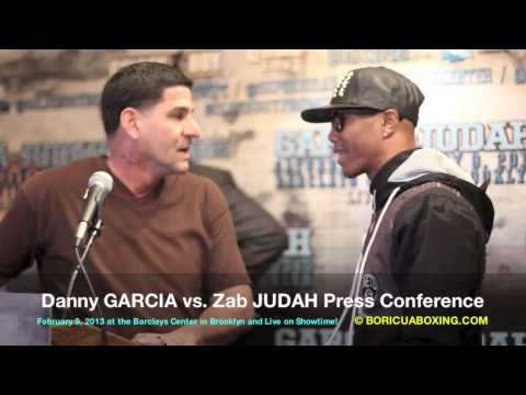 Angel & Danny Garcia BRAWL with Zab Judah – What You Didn't See or Hear! (720HD) BoricuaBoxing.com