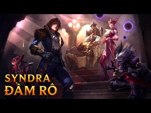 Syndra Đầm Rô - Queen of Diamonds Syndra