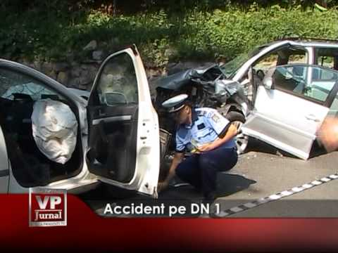 Accident pe DN1
