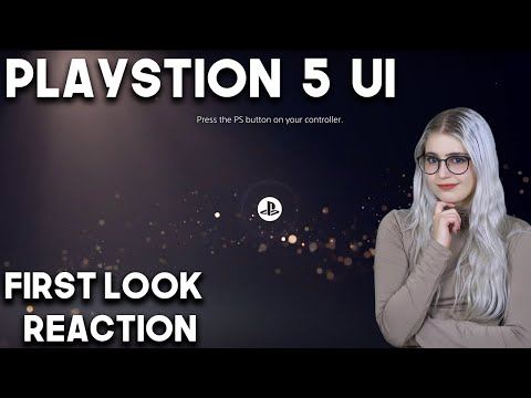 First Look at the PlayStation 5 User Experience Reaction