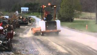 5. 2007 Laymor 8HC Ride On Sweeper Broom Power Sweeper Towable For Sale