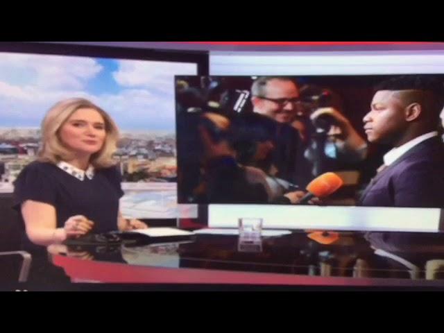 PLS BBC School Reporters interviewed John Boyega
