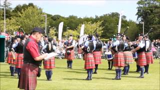 Ayr United Kingdom  City pictures : United Kingdom Championships 2015 - Ayr Pipe Band Society