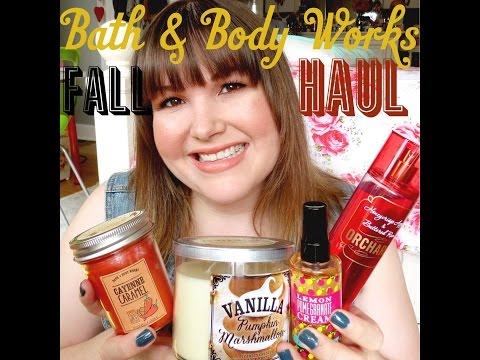 Bath & Body Works Haul!