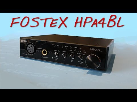 Z Review - Fostex HPA4BL [More Japanese Made Sex]
