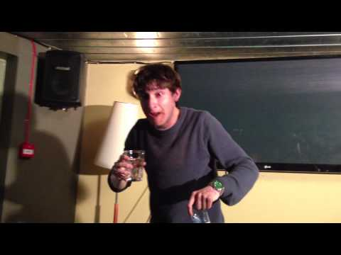 Tom Rosenthal doing the Cinnamon Challenge 'Friday Night Dinner' 'Plebs'