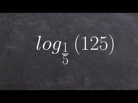 CCSS HSF LE A 1c Evaluating logarithms without a calculator ex 4