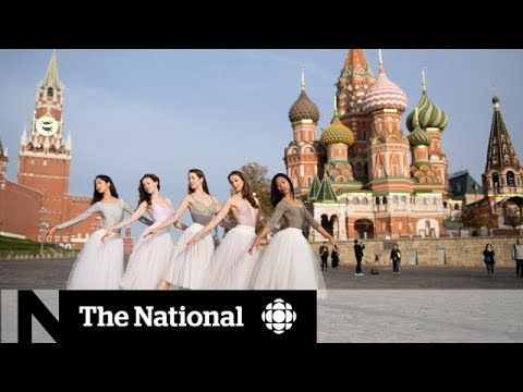 The National Ballet of Canada performs in Russia