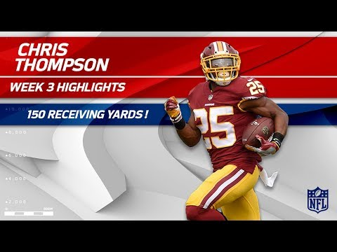 Video: From RB to WR: Chris Thompson's 150 Receiving Yards! | Raiders vs. Redskins | Wk 3 Player Highlights