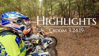 7. Croom 3.24.19 Highlights - Husqvarna TE 150