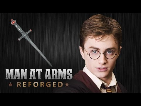 Blacksmiths Recreate Harry Potter s Sword of