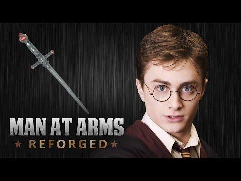 Blacksmiths Recreate Harry Potter s Sword of