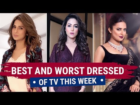 Jennifer Winget, Divyanka Tripathi, Anita Hassanandani : TV's Best And Worst Dressed Of The Week
