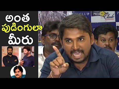 Rayalaseema Student Fires On Aravinda Sametha Movie Team And Pawan Kalyan | NTR | NewsQube