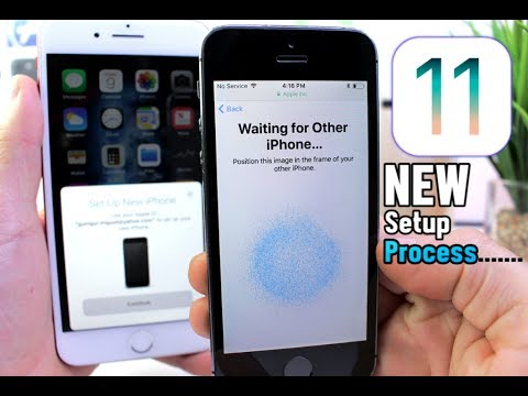 New iPhone To iPhone Set up Process in iOS 11