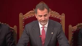 Discurso de S.M. el Rey ante la nueva promoción de la carrera judicial