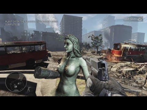 Sniper: Ghost Warrior 2 - Shooting AA Crews Gameplay (PC)