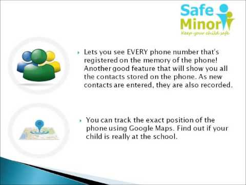 Video of SMS Call Tracker - SafeMinor