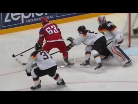 Хоккей.ЧМ РОССИЯ-ГЕРМАНИЯ 4:1 (видео)