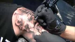 Video Zeus - Tattoo time lapse MP3, 3GP, MP4, WEBM, AVI, FLV Agustus 2018