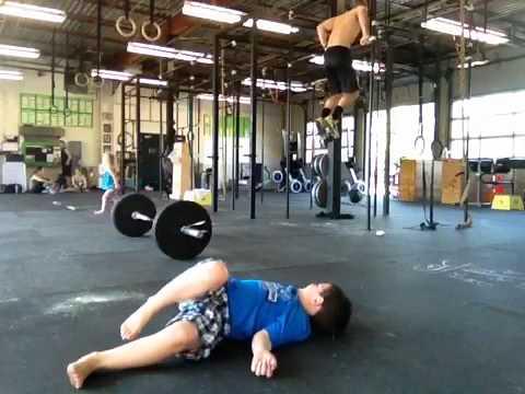 Games 2012 snatch/bar muscle up Triplett